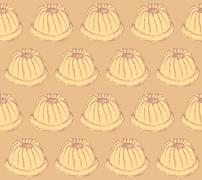 Stock Illustration of Sketch tasty muffin in vintage style