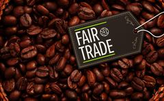 Stock Illustration of Composite image of fair trade