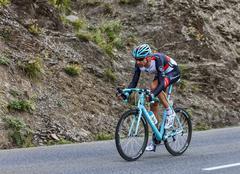 The Cyclist Jens Voigt - Tour de France 2013 Stock Photos