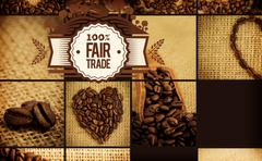 Stock Illustration of Composite image of fair trade graphic