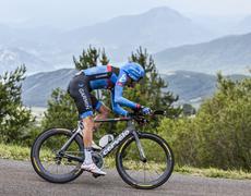 The Cyclist Ryder Hesjedal - Tour de France 2013 Stock Photos