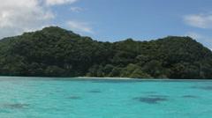 Beautiful Rock Islands of  PALAU Stock Footage