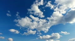 Beatiful clouds timelapse Stock Footage