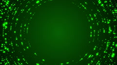 green abstract motion background, loop - stock footage