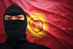 kyrgyz danger - stock photo