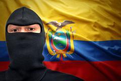 ecuadorian danger - stock photo