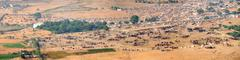 Thousands of Camels and Other Livestock at Pushkar Camel Fair in India Stock Photos