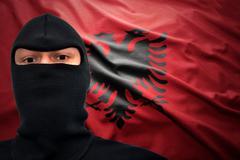 Albanian danger Stock Photos