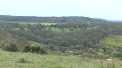 The Chequers estate the country house retreat of the British Prime Minister. - stock footage