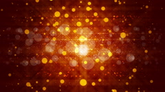 Abstract red background and particles, loop Stock Footage