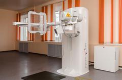"Digital X-ray machine ""Pulmoskan"" Stock Photos"