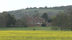Chequers the country house retreat of the Prime Minister of the United Kingdom. Stock Footage