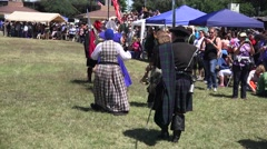 Scottish, Clans on Parade - stock footage