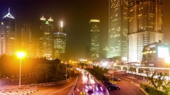Timelapse.China.Shanghai. Stock Footage