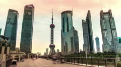 Timelapse.China.Shanghai. Stock Footage