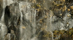 Yosemite Bridalveil Fall 96fps 09 Slow Motion Waterfalls - stock footage