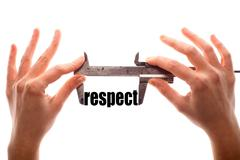 Small respect - stock illustration