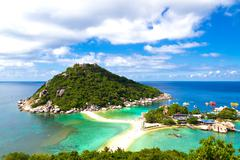 Tropical paradise in Thailand - stock photo
