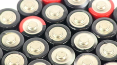 Batteries 11 Stock Footage