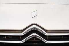 Citroen French Car Sign - stock photo