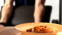 Exercise or snacks 2 Stock Footage