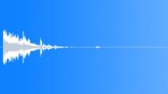 Metal Debris Impact Short Medium 05 Sound Effect