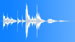 Metal Debris Impact Short Medium 07 Sound Effect