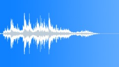 Metal Debris Impact Short Medium 09 Sound Effect