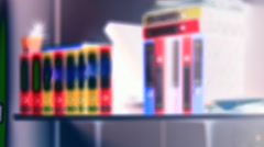 Some binders in the office Stock Footage