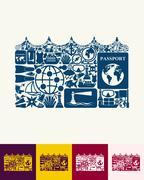 Wave icon Stock Illustration