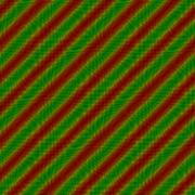 Red green oblique striped tile able background - stock illustration
