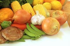 Common Vegetables - stock illustration