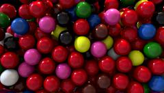 Snooker billiards pool balls fill screen transition composite overlay Stock Footage