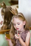 Little Princess tints lips Stock Photos