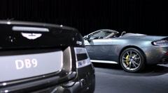 Aston Martin V8 Vantage N430 Roadster Stock Footage