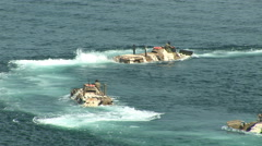 Stock Video Footage of Amphibious assault