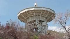 Radio telescope Stock Footage