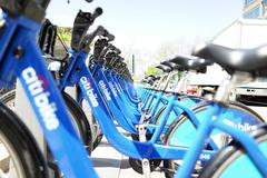 Citi Bike NYC - stock photo