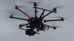 flying camera - stock footage