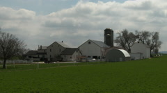 Amish farm 2 - stock footage