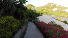 Antigua Landscape - stock footage