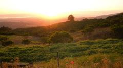 Stock Video Footage of Santa Cruz Sunrise 01 Time Lapse