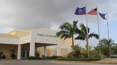 Recreation Center in GUAM, USA Stock Footage
