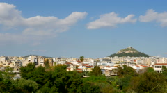 Lycabettus Hill Athens, Greece Stock Footage