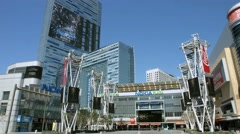 4K, UHD, Nokia Theatre Center LA LIVE in Los Angeles, California, BlackMagic Stock Footage