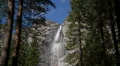 Yosemite Falls and Forest 02 HD Footage