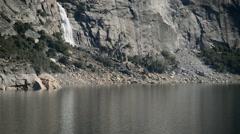 Yosemite Hetch Hetchy Dam 01 Wapama Falls Stock Footage