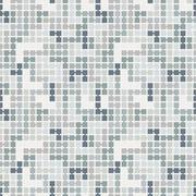 Vector seamless pattern of randomly connected squares - stock illustration