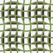 Vector seamless texture of intertwined bands Stock Illustration