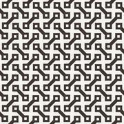 Vector seamless pattern of dumbbells similar elements - stock illustration